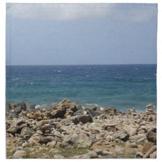 Belleza del océano servilleta