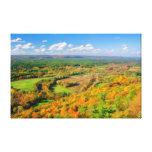 Belleza del otoño, Simsbury, CT Lona Envuelta Para Galerías