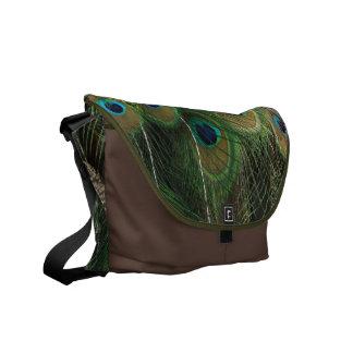 Belleza del pavo real - la bolsa de mensajero bolsas messenger