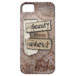 Belleza del pedazo cristiano del damasco de las ce iPhone 5 funda