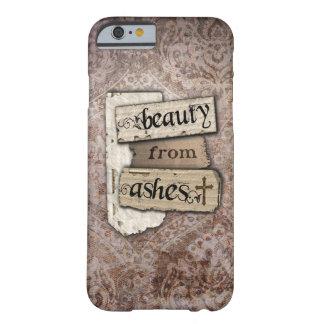 Belleza del pedazo cristiano del damasco de las funda para iPhone 6 barely there