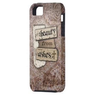Belleza del pedazo cristiano del damasco de las iPhone 5 funda