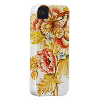Belleza del vintage Case-Mate iPhone 4 fundas