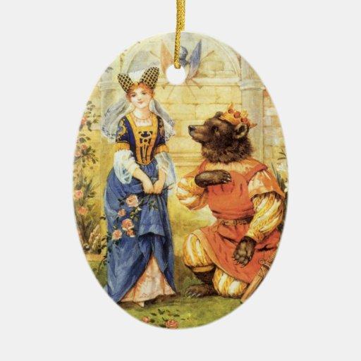 Belleza del vintage y el cuento de hadas de la bes ornamente de reyes