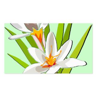 Belleza del Wildflower Tarjetas De Visita