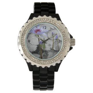 Belleza derecha de Waterlily Relojes De Mano