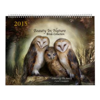 Belleza en el calendario 2015 del arte de la