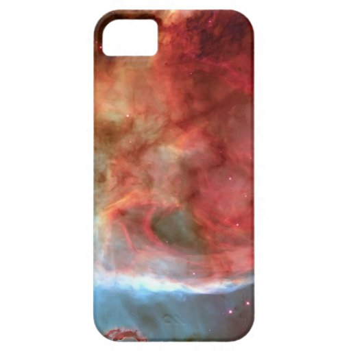 Belleza en fotografía de la nebulosa del espacio iPhone 5 protectores