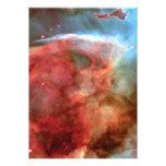 Belleza en fotografía de la nebulosa del espacio anuncio personalizado