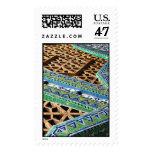 Belleza en pequeños pedazos sellos postales