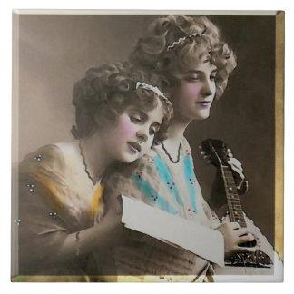 Belleza eterna - hermanas en música azulejos