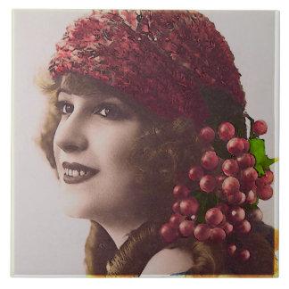 Belleza eterna - jubileo de las cerezas teja  ceramica