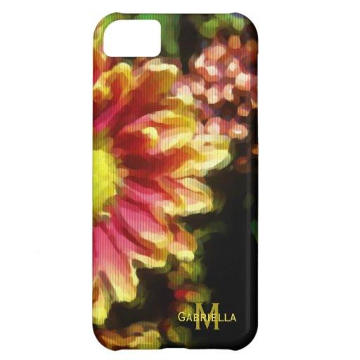 Belleza floral: Personalizado: caso del iPhone 5