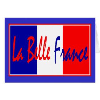Belleza Francia del La: Dolor, Vin, Fromage, Tarjeta De Felicitación