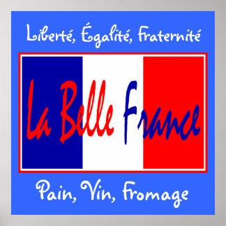 ¡Belleza Francia del La - para los bistros, bar de Póster