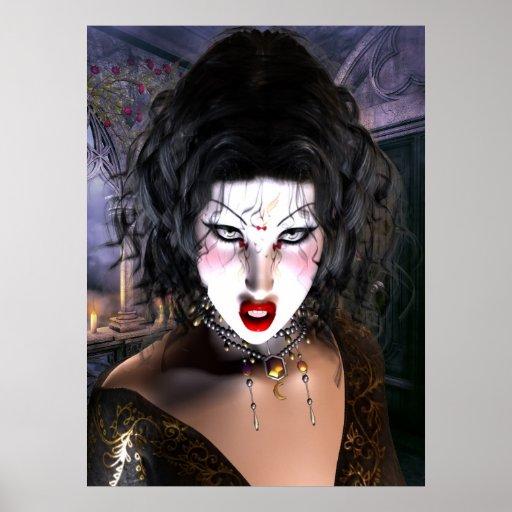 Belleza gótica poster