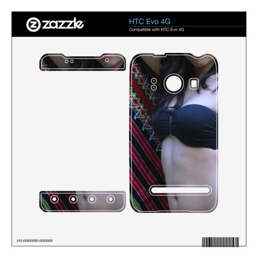 Belleza hispánica HTC evo 4G skins