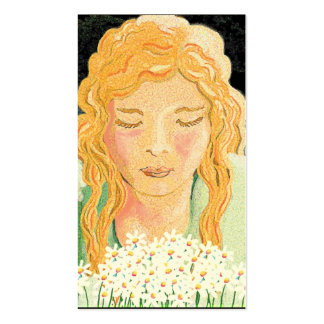 Belleza irlandesa tarjetas de visita