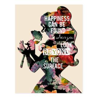 Belleza - la felicidad puede ser encontrada tarjetas postales