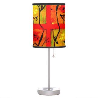Belleza lámpara del tronco