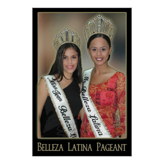 Belleza Latina Pageant - 1 Poster
