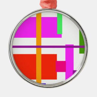 Belleza linear ornamento para arbol de navidad