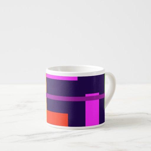 Belleza linear tazas espresso