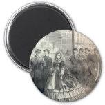 Belleza meridional, 1861 iman de nevera