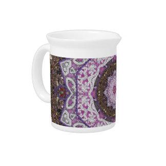 Belleza moldeada de la mano jarras para bebida