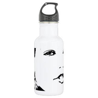 Belleza natural botella de agua de acero inoxidable