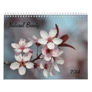 Belleza natural calendarios de pared