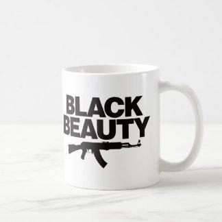 Belleza negra AK - negro Taza