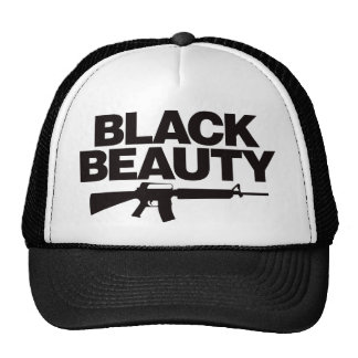 Belleza negra AR - negro Gorra