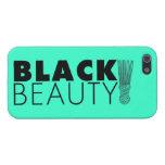 Belleza negra iPhone 5 protector