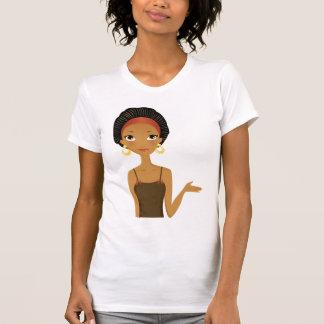 Belleza negra camiseta