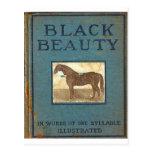 Belleza negra postal