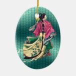 Belleza oriental adorno de reyes