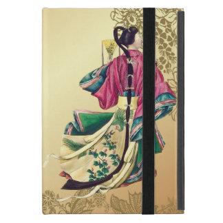 Belleza oriental en el oro iPad mini carcasa
