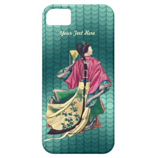 Belleza oriental - personalizar iPhone 5 carcasas