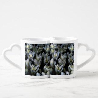 Belleza oscura set de tazas de café