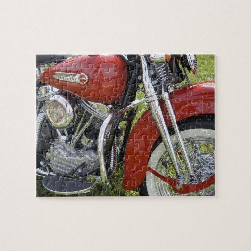 Belleza roja puzzle con fotos