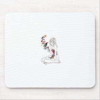 Belleza simple alfombrilla de ratón