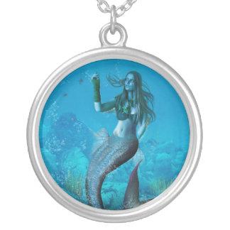 Belleza subacuática (collar/colgante) colgante redondo