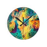 Belleza subacuática - Seashells Relojes De Pared