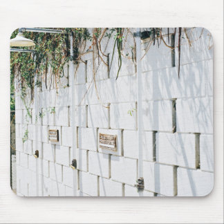 Belleza temática, un muro de cemento con el Nai de Mouse Pad