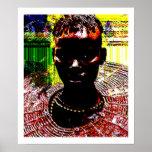 Belleza tribal africana poster