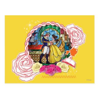 Belleza - verdad de corazón tarjetas postales