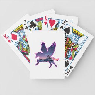 Belleza y el unicornio baraja de cartas