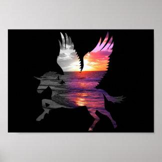 Belleza y el unicornio póster