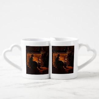 Belleza y la bruja - set de tazas de café
